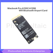 New WiFi Airport Bluetooth 4.0 Card BCM94360CS 13-14 BCM943602CS 15 For Macbook Pro A1502 A1398 Exceed BCM4360(China)