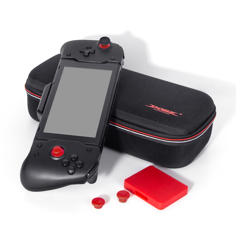 For Switch Controller Upgraded Gamepad Plug PD Fast Charge Double Motor Vibration Built-in 6-Axis Gyro Handle Grip Storage Bag