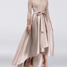 High Low Mother Of The Bride Dresses A-l