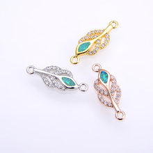 KAMAF The new creative fashion a simple charm pendants, handmade diy bracelet necklace connector jewelry accessories