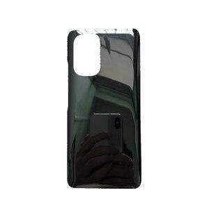 "Image 4 - K40 الإسكان ل شاومي Redmi K40 6.67 ""الزجاج غطاء البطارية إصلاح استبدال الباب الخلفي الهاتف الخلفي حالة شعار"
