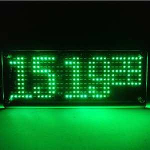 Image 4 - SMD LED דוט דיגיטלי שעון ייצור ערכת אלקטרוני DIY ערכת שעון אלקטרוני ייצור חלקי