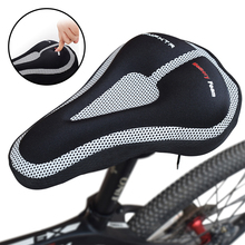 MTB Mountain Bike Cycling Seat Cushion Soft Saddle Cover Accessories Road Bike Seat Cushion Cover Saddle Cover Bike Accessories coolchange cycling bicycle seat cover with breathable liquid silicone gel mtb road mountain bike saddle cover hollow cushion