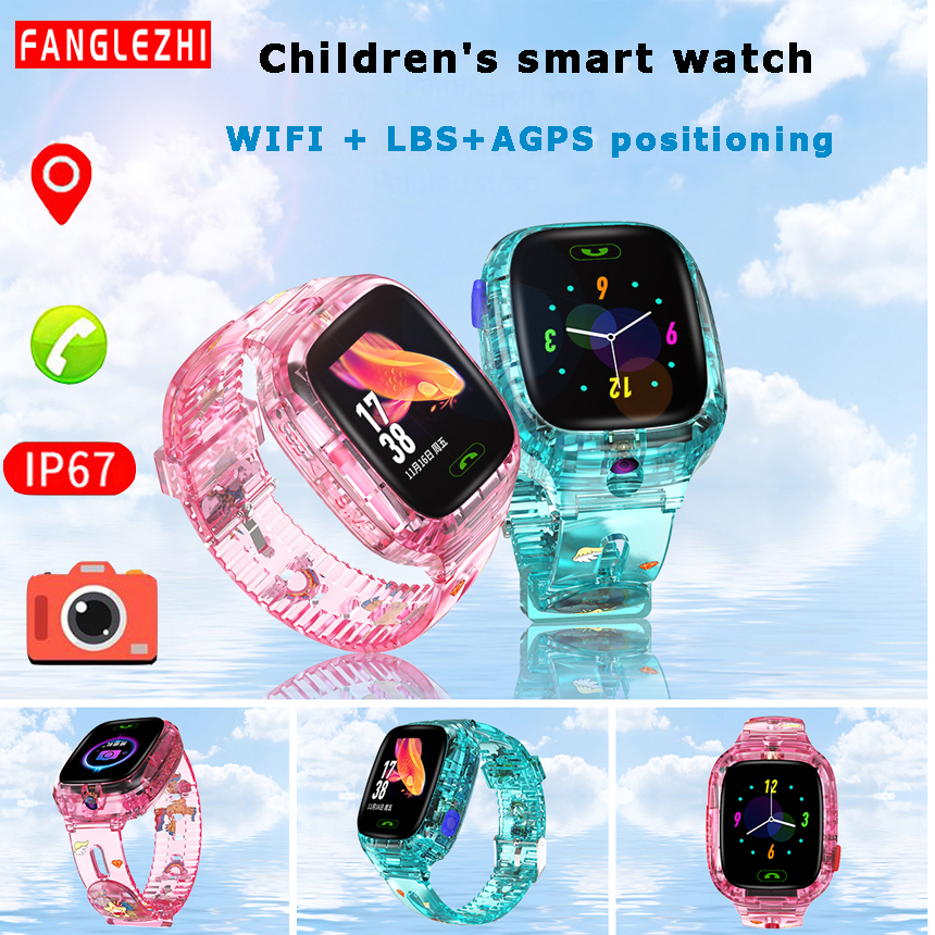 Y91 <font><b>Smart</b></font> <font><b>Watch</b></font> <font><b>Kids</b></font> Waterproof 2G SIM Card Smartwatch Children WIFI SOS Tracker With Camera <font><b>Watch</b></font> Phone Android PK Q50 Q90 <font><b>Q528</b></font> image