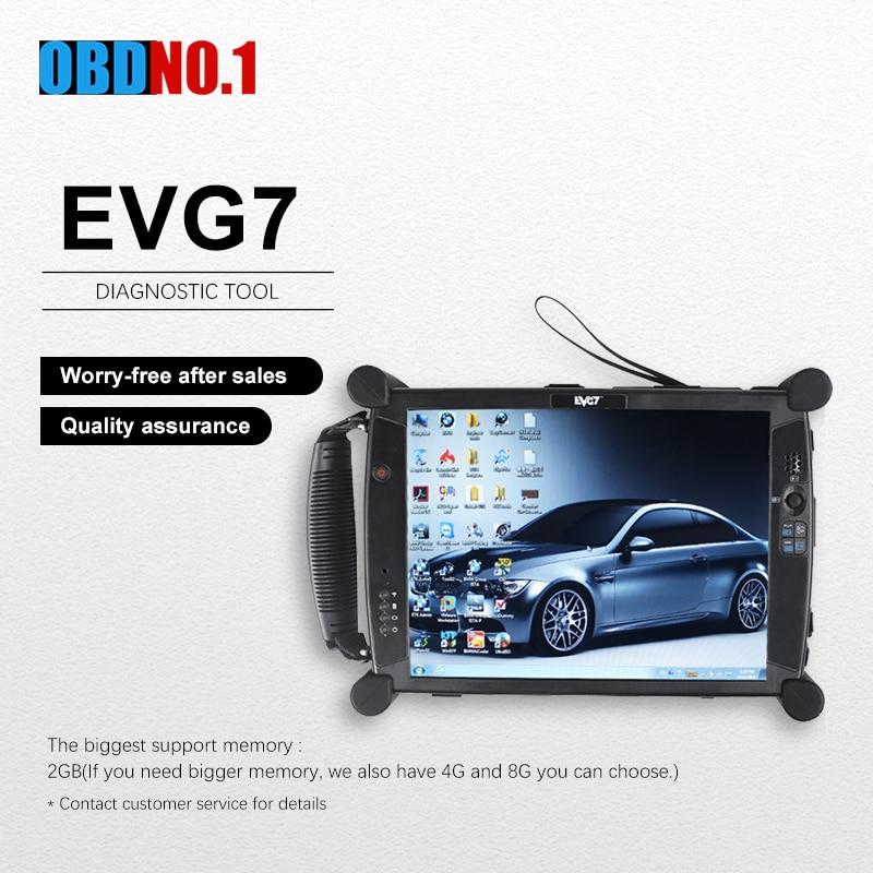 EVG7 Diagnostic tool Controller Tablet Laptop Connect Software with ICOM A2/ICOM Next/forGM MDI EVG7 DDR4G/8G Car Diagnostic Cables & Connectors  - AliExpress