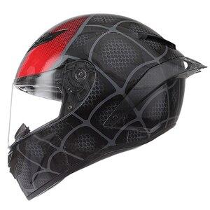Motorrad Volle Gesicht Moto Helme Schwarz Motorrad Capacete Casque Racing Motocross Helm Casco Männer Frauen Reiten Moto Helm