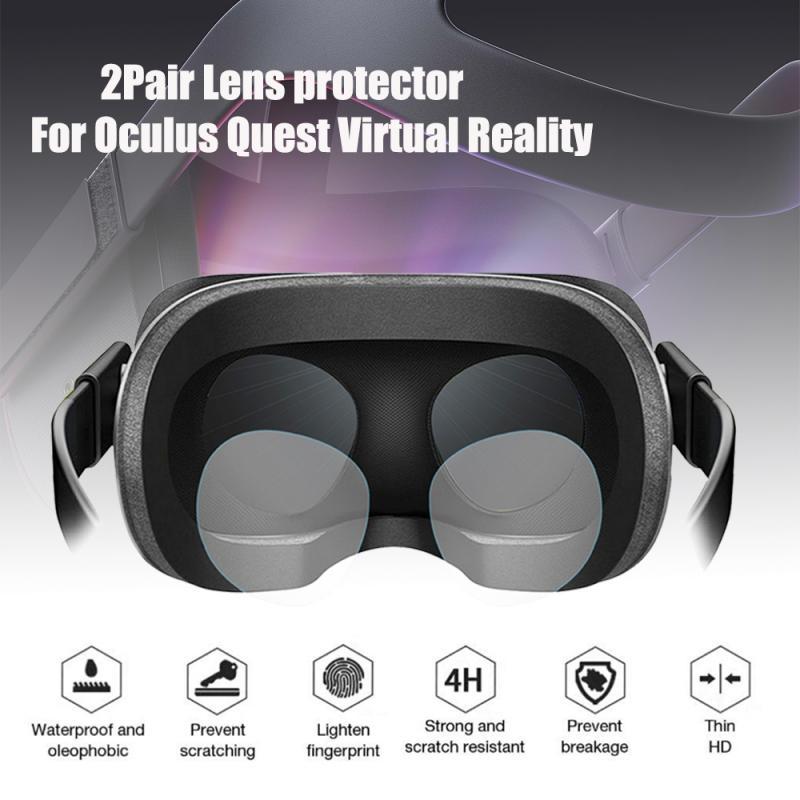 2 пары защитное устройство для объектива виртуальной реальности Len HD прозрачная пленка для Oculus Quest Rift Go 3D очки Очки виртуальной реальности VR Очки виртуальной реальности Портативный аудио видео|3D очки, очки виртуальной реальности|   | АлиЭкспресс