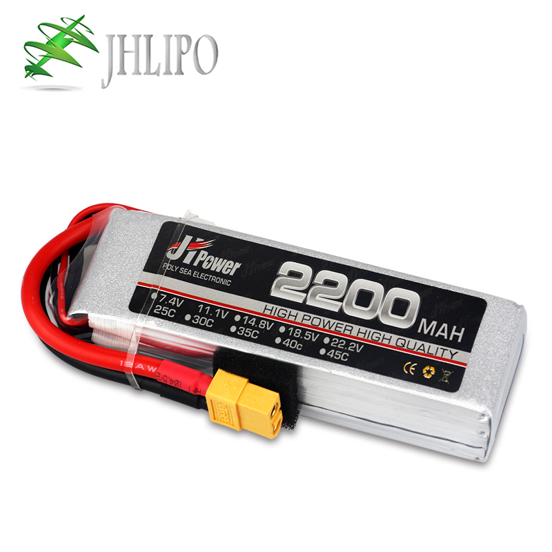 JH <font><b>Lipo</b></font> <font><b>battery</b></font> <font><b>2200mAh</b></font> 75C 3S <font><b>11.1V</b></font> Helicopter RC <font><b>battery</b></font> Drone for RC airplane car boat rc car parts <font><b>Batteries</b></font> - <font><b>LiPo</b></font> image