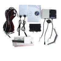 Detecção de ponto cego do carro sistema de sensor miniwave bsd luz de movimento aviso