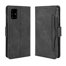 Card Case For Samsung Galaxy A51 5G Leather Wallet Cover Magnetic Flip Stand Shockproof Shell for Samsung A51 5G Case Retro mooncase canvas design leather side flip wallet pouch stand shell back чехолдля samsung galaxy e7 dark blue