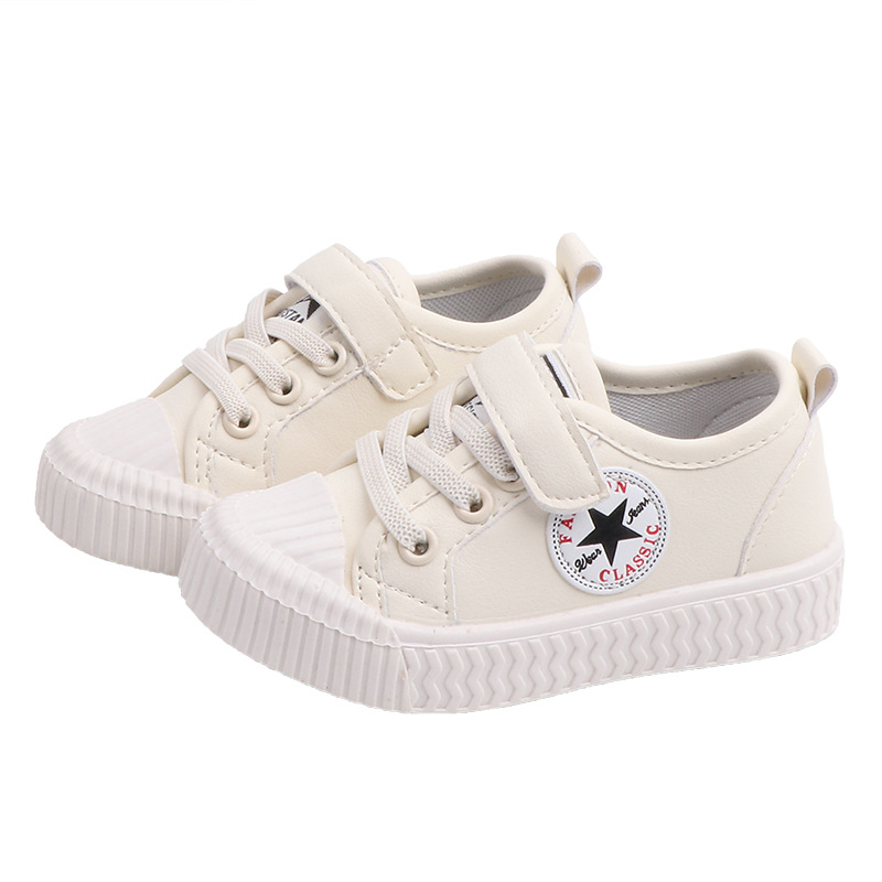 Kids Shoes Boy Girl Sneakers New Children's Canvas Shoe Four-season Cloth Shoes  Students Sports Running Baby Small White Shoe