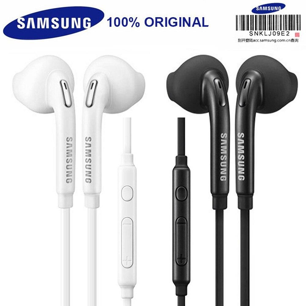 Оригинальные наушники-вкладыши Samsung с микрофоном и регулировкой громкости для Galaxy A3, A5, A7, A8 2016, 2017, 2018, J3, J5, J7, C5