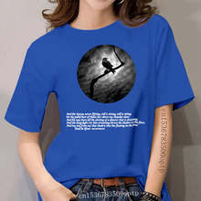 Edgar Allan Poe The Raven women T-Shirt - Goth Gothic Comfortable t shirt Casual Short Sleeve Print tees cheap wholesale