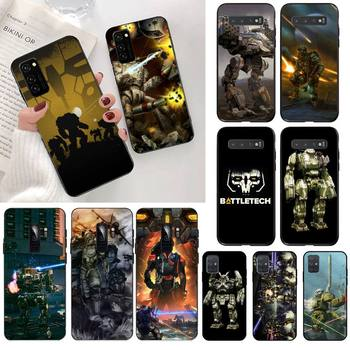 HPCHCJHM Battletech Phone Case Cover for Samsung S20 plus Ultra S6 S7 edge S8 S9 plus S10 5G