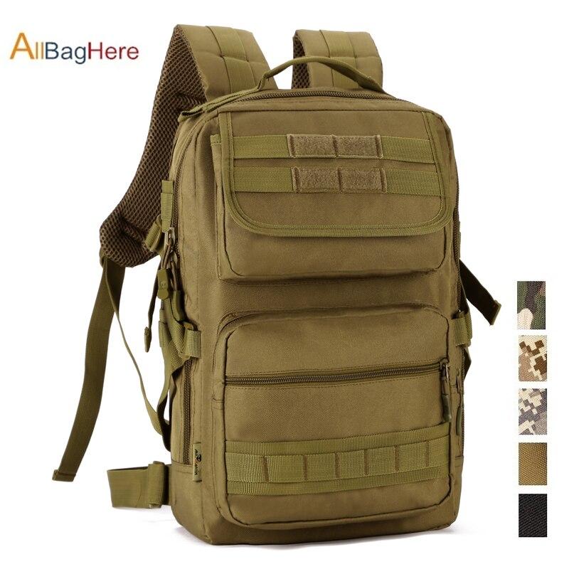 Sac à dos tactique extérieur multifonction 25L pour hommes étanche militaire 14 pouces ordinateur portable escalade randonnée sacs armée sport sac à dos