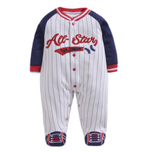 Детский комбинезон; пижамы для маленьких мальчиков; комбинезоны; цельный комбинезон для маленьких девочек; комбинезон для ног из хлопка