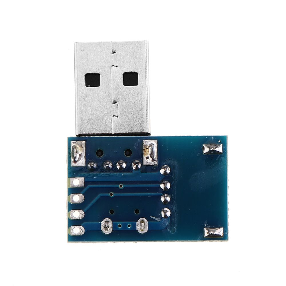 USB Converter Standard Type A USB Female To Male To Micro USB To 4P Terminal Adapter Board 2.54mm Connector