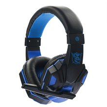 цена на SY830MV 3.5mm Gaming Headset Surround Sound Over Ear Game Gaming Headphone Computer Earphones Stereo Microphone Headphone
