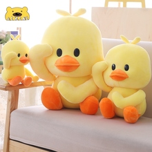 AIXINI Duck Plush Toys Duck Doll Big Yellow Duck Stuffed Animals Pillow Toys for Babies Birthday Gift Decor Kawaii Duck Plushie