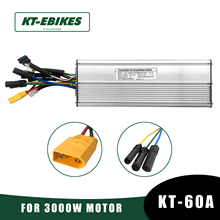 Ebike-Controller Conversion-Kit 3000w Motor Electric-Bicycle KT 60A 72V for 56V 90V
