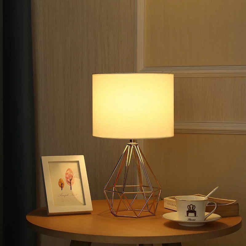 Moderne Schlafzimmer Bett Seite Tisch Lampe mit Lampe Schatten für Wohnzimmer Loft Persönliche Büro Kaffee Tische Led-leuchten Dekoration