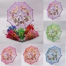 BJD Doll Accessories Mini Lace Umbrella Kids 60cm Dolls Dres