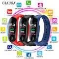 2019 M3 Plus Smart Armband Herz Rate Blutdruck Wasserdichte Bluetooth Uhr Armband Fitness Tracker M3 Pro Smart Uhr A2