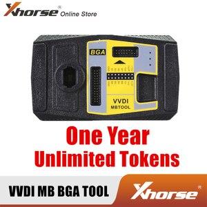 Image 1 - Xhorse VVDI MB BGA TOOL 1 년 기간 무제한 토큰 암호 계산 (장치 없음)