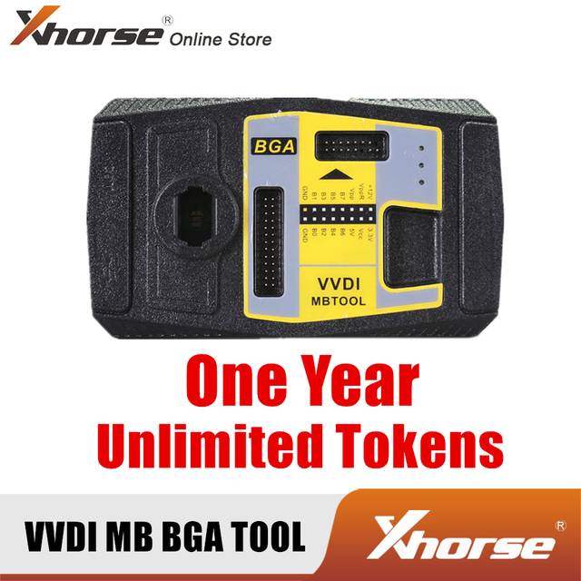 Xhorse VVDI MB BGA TOOL 1 년 기간 무제한 토큰 암호 계산 (장치 없음)
