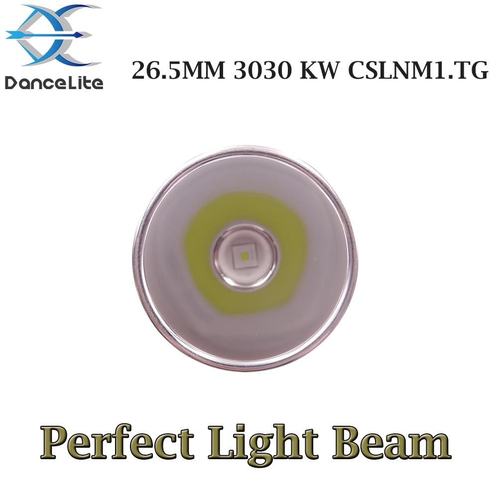 1PC 26.5MM LED Drop In Flashlight Head LED Module with 3030 KW CSLNM1.TG Hi 10W LEDs (Perfect Light Beam)|LED Flashlights|   - AliExpress