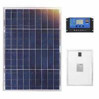 DOKIO 18V 40W Polykristalline Solar Panel 460*660*25mm Silicon Power Painel Top Qualität Solar batterie china Solar Fotovoltaico