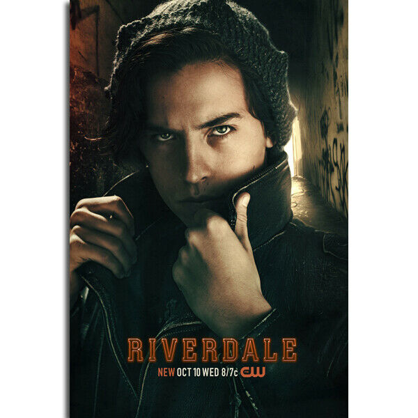 RIVERDALE JUGHEAD TV SHOW Art Silk Poster 12x18 24x36