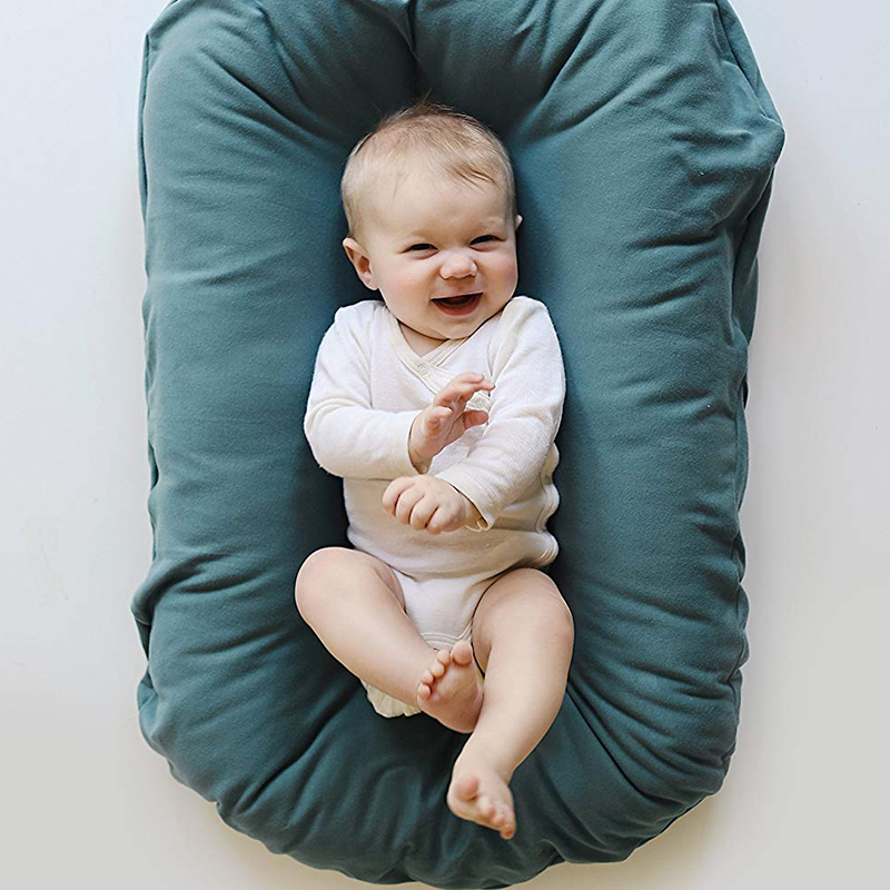 Baby Bed Crib Travel Bed For Children Baby Care Outdoor Portable Cot Crib For Newborn Baby 75*45cm Cotton Soft YBD006