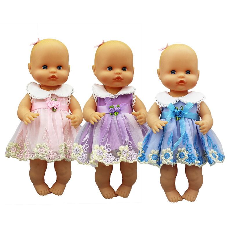 New Fashion Dress Doll Clothes Fit 33-35cm Nenuco Doll Nenuco Su Hermanita Doll Accessories
