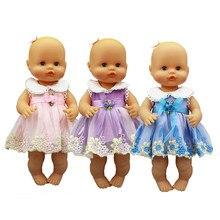 Nouvelle robe de mode vêtements de poupée ajustement 33-35cm Nenuco poupée Nenuco su Hermanita accessoires de poupée