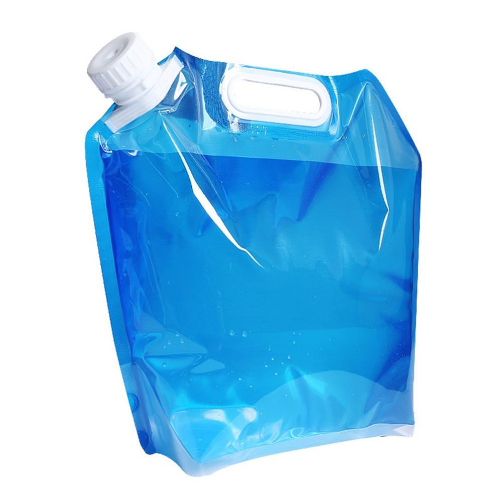 Outdoor Water Bags Foldable portable Drinking Camp Cooking Picnic BBQ Water Container Bag Carrier Car 5L Water Tank
