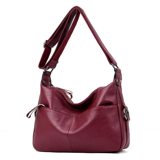 Winter Stil Weichen Leder Luxus Handtaschen Frauen Taschen Designer Doppel Tasche Frauen Taschen für Frauen 2020 Geldbörsen und Handtaschen Sac