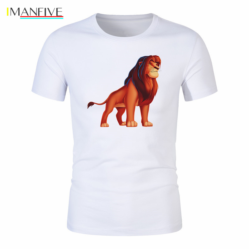 Rey leon 2019 Men T Shirt roi lion Tees Lion King Scar Betrays Mufasa Long Live King Childhood Trauma le roi tshirt 100 cotton in T Shirts from Men 39 s Clothing