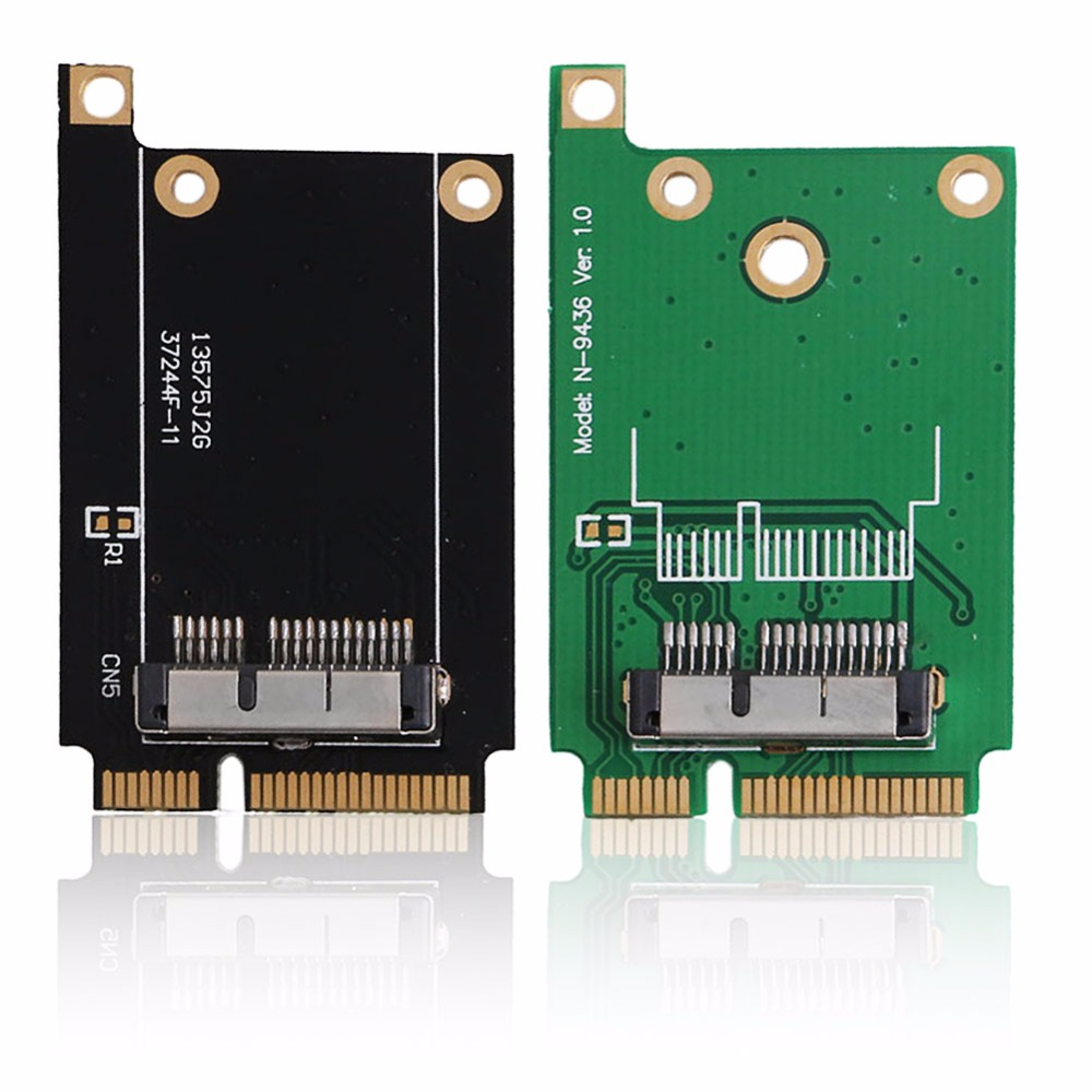 Mini PCI-E For Apple BCM94360CD BCM94331CM Tablet Express Card Adapter