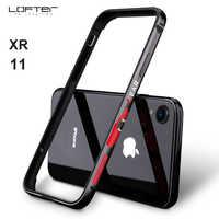 Luxus Neue Mode Aluminium Metall Bumper für iphone XR Cartoon Muster Schutzhülle Schild Rahmen für iphone 11