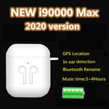 Nowy i90000 max TWS Hi-Fi słuchawki stereo bezprzewodowe słuchawki Bluetooth pk TWS i9000 pro tws i90000 Pro tws i99999 pro tws i9s i12 tanie tanio GiNiffe Ucho Dynamiczny CN (pochodzenie) wireless Do Gier Wideo Wspólna Słuchawkowe Dla Telefonu komórkowego Instrukcja obsługi
