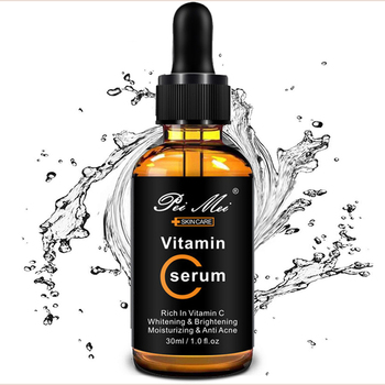 30ml Vitamin C Serum for Face, Topical Facial Serum with Hyaluronic Acid, Vitamin E, 1 fl oz 1