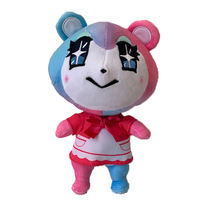 Новые милые животные друзья плюшевые игрушки kawaii аниме кошка