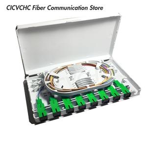 Image 5 - 5 pièces 8 ports pour adaptateur SC/LC/ST boîtier à fibers pour FTTH