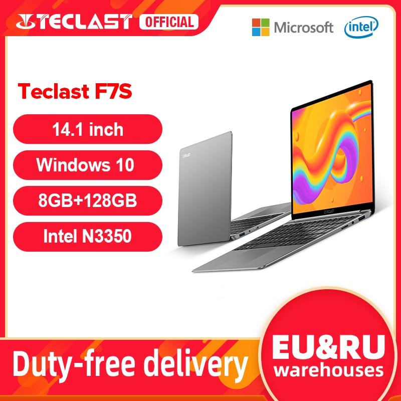 "Teclast f7s 14.1 ""portátil notebook 8gb ram 128gb rom laptops intel apollo lago duplo wifi computador 1920x1080 ips windows 10 1"
