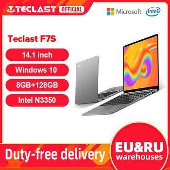 "Teclast F7S 14.1"" Laptop Notebook 8GB RAM 128GB ROM Laptops Intel Apollo Lake Dual Wifi Computer 1920x1080 IPS Windows 10 1"