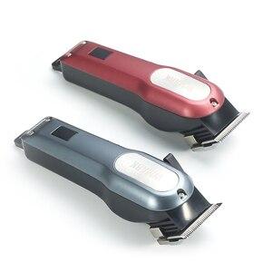 Image 4 - WMARK cordless ricaricabile Capelli taglio Capelli Trimmer 2000mAh batteria Al Litio 6000 6500rm tagliatore di capelli Professionale con il regalo