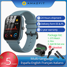 Add 5$ can get headset Global Version Amazfit GTS Smart Watch Huami GPS Waterpro