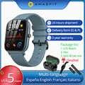 Gts Inglese Versione Amazfit Gts Astuto Della Vigilanza 1.65 Retina Display 5ATM Impermeabile Smartwatch 14 Giorni Batteria Gps di Controllo di Musica
