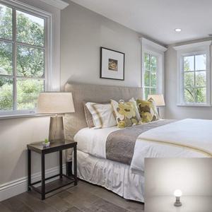 Image 5 - E26 E27 lumière LED ampoule A19 9W lampe 60W équivalent 5000K lumière du jour 2700K blanc chaud pour intérieur logement décoration de la maison 6Pack